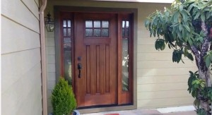 Image of door installed by arcata general contractor